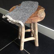 linnen handdoeken grasse-zwart-naturel