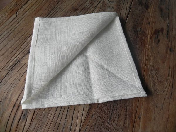 linnen servet off-white