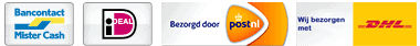 Logo betalen bezorgen